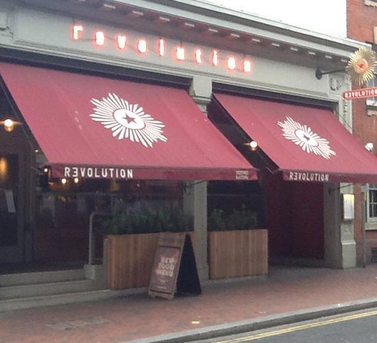 Hartbrights Awning @ Revolution