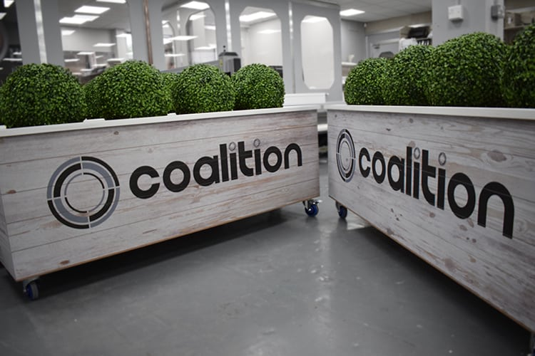 Custom Branded Planters - Coalition, Brighton