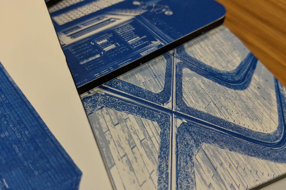 Coasters - UV Printing on Dibond