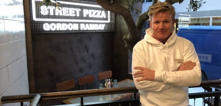 Gordon Ramsay Restaurant Group Street Pizza Launch