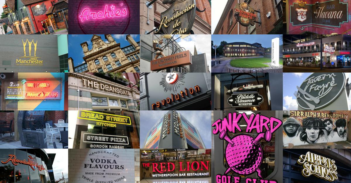 Bespoke Signs Mosaic