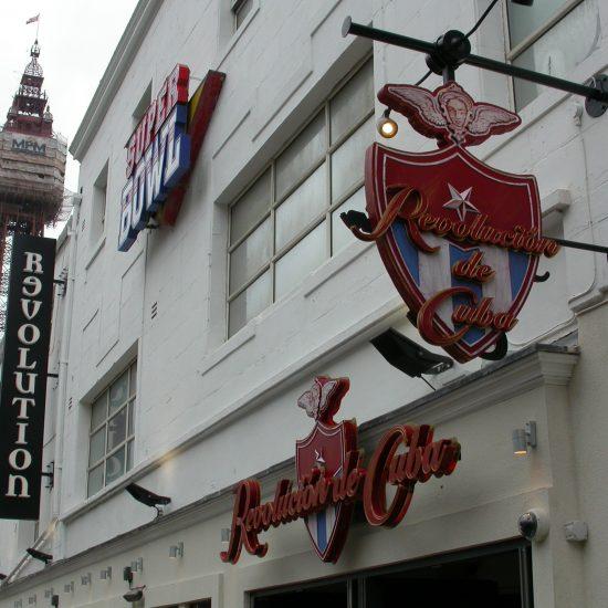 Revolution, Blackpool - Bespoke Illuminated External Signage