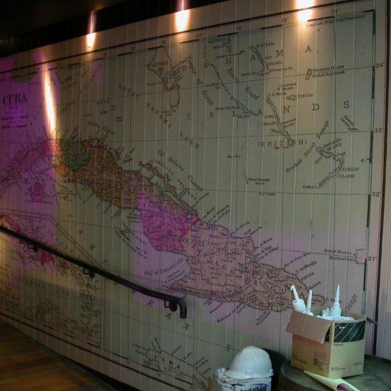 Revolución de Cuba, Cardiff - UV Printed Internal Wall Art