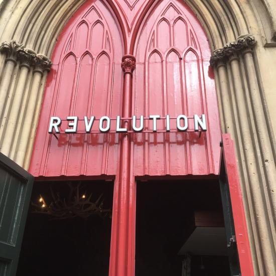 Revolution, Cheltenham - LED Illuminated 3D Lettering
