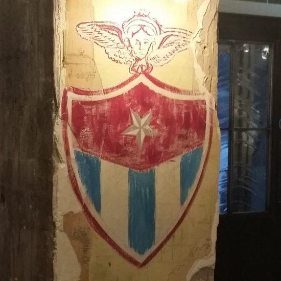 Revolución de Cuba, Glasgow - Internal Custom Signwriting