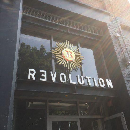 Revolution, Fleet Street, Liverpool - Custom Made Illuminated 3D Sign