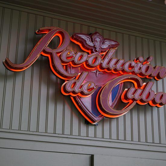 Revolución de Cuba, Milton Keynes - LED Lit Custom 3D Sign