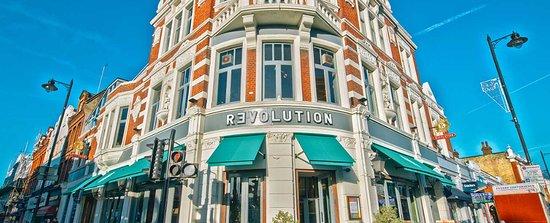 Revolution, Putney - Custom Illuminated Sign & Awnings