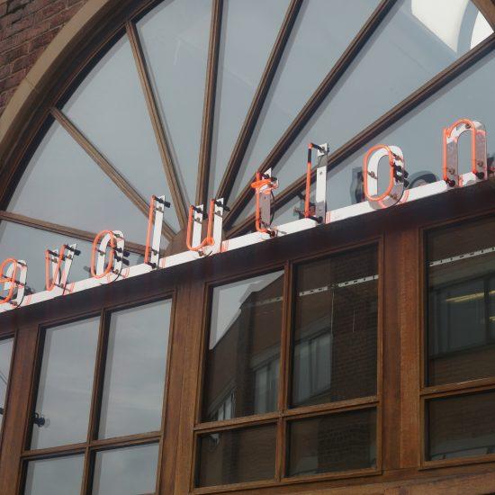 Revolution, Wigan - Neon Sign