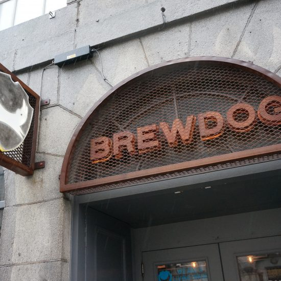 Brewdog - 3D Illuminated Sign