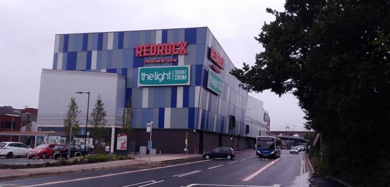 Redrock Leisure Complex, Stockport - 3D Illuminated Signage