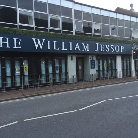 The William Jessop, Ellesmere Port - Amber Inns - 3D Lettering Sign
