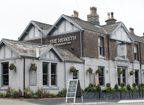 The Hesketh, Cheadle Hulme - Almond Pubs - 3D Lettering & Projecting Pub Signs