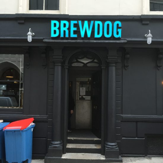 Brewdog - Illuminated Sign