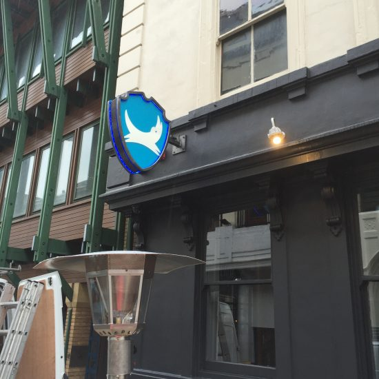 Brewdog - Illuminated Projecting Signage