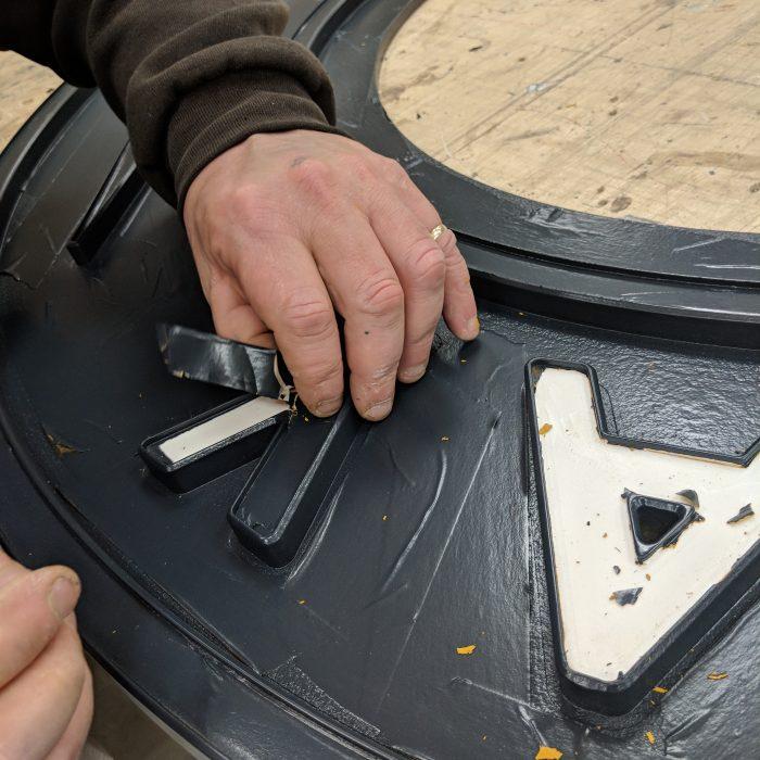 Custom Signage - Hand Painted Foamex