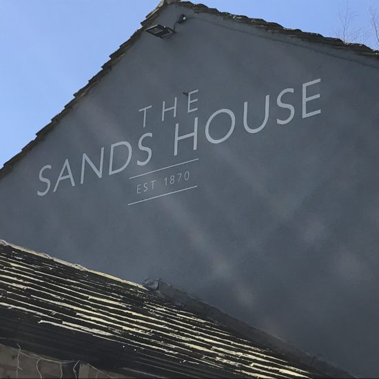 The Sands House, Huddersfield - Pub Signwriting