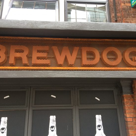 Brewdog - 3D Letter Sign