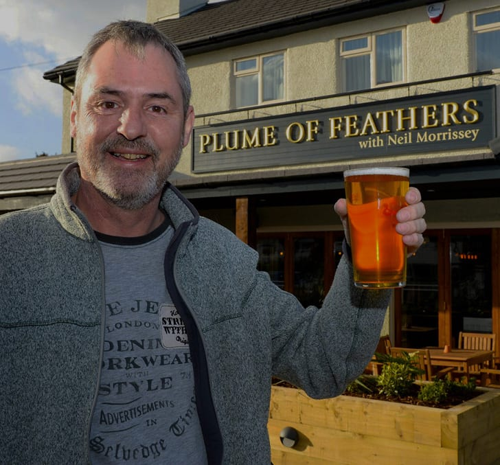 Neil Morrissey @ the Plume of Feathers