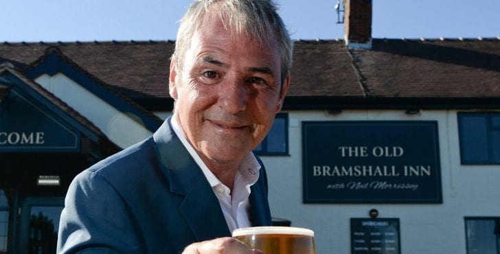 Neil Morrissey, Old Bramshall Inn