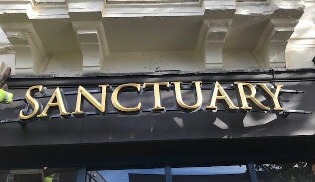 Sanctuary Signage