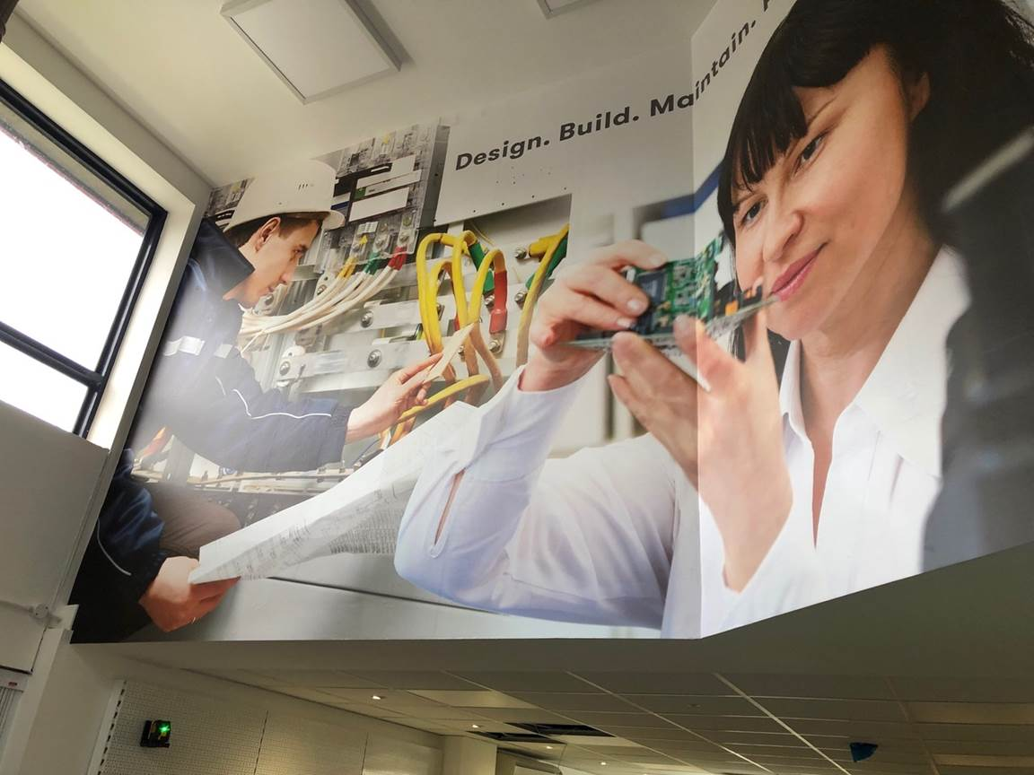 New Signage & Graphics Installed at RS Components Nottingham